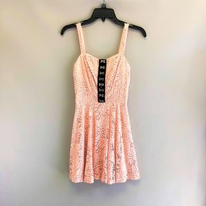 NWT LACE FIT & FLARE DRESS